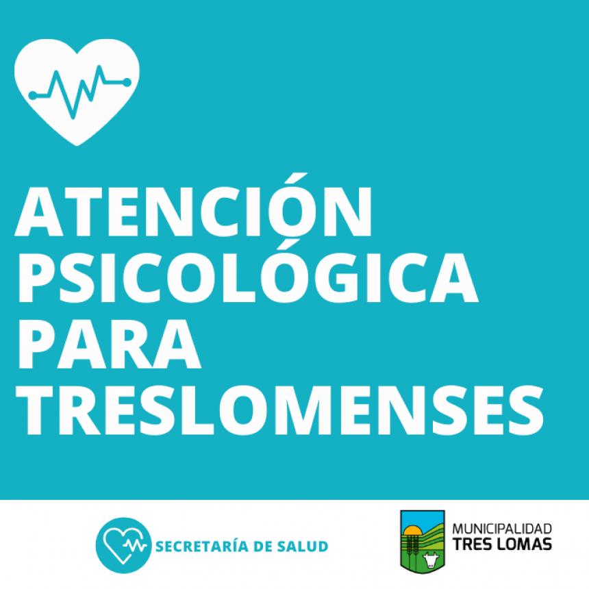 ATENCIÓN PSICOLÓGICA PARA TRESLOMENSES