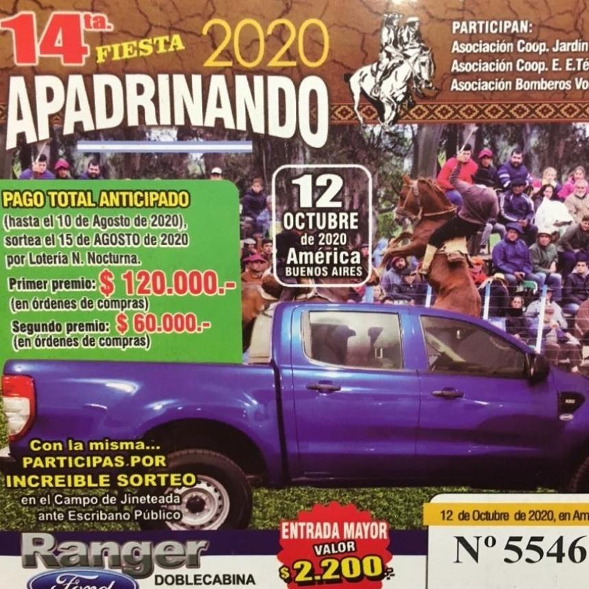 LA 14º FIESTA DE APADRINANDO SE REALIZARA EN OCTUBRE