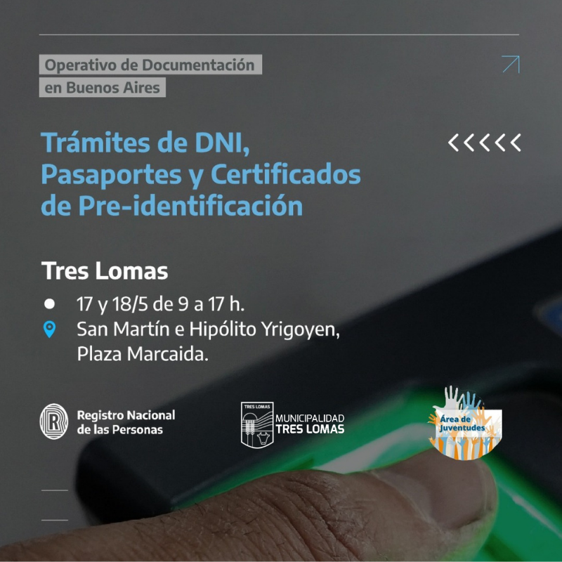 OPERATIVO DE DOCUMENTACIÓN EN TRES LOMAS