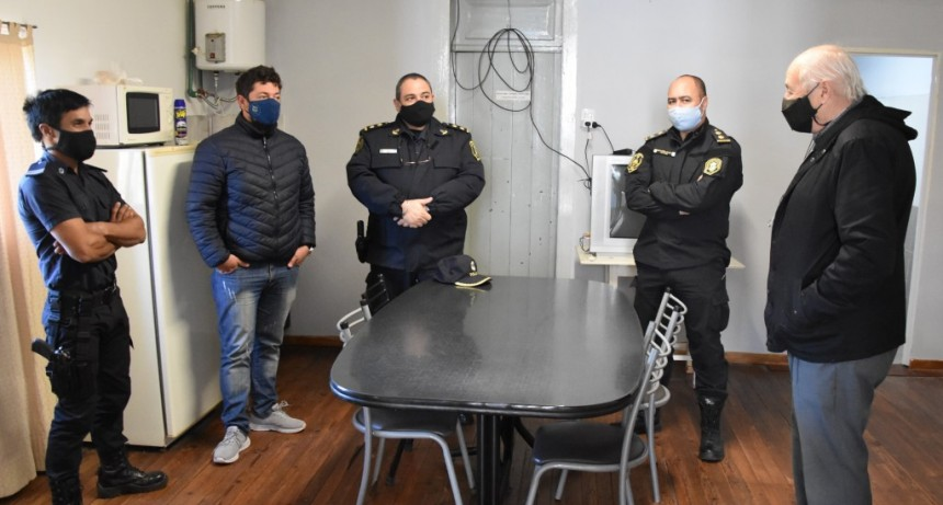 MEJORAS EDILICIAS EN EL DESTACAMENTO POLICIAL