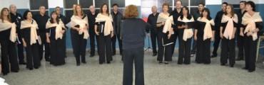 EL CORO MUNICIPAL CANTO EN BOLIVAR