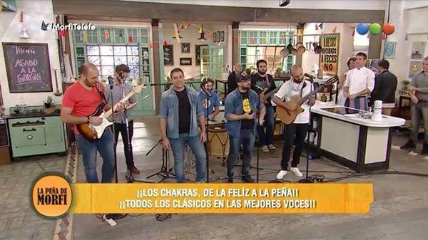 LOS CHACRAS ACTUARON EN TELEFE. JUAN PABLO SABATER HABLO EN FM AMANECER