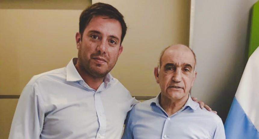 EL RADICALISMO PRESENTO LISTA. LUCIANO SPINOLO SE REUNIO CON EL VICEGOBERNADOR DANIEL SALVADOR