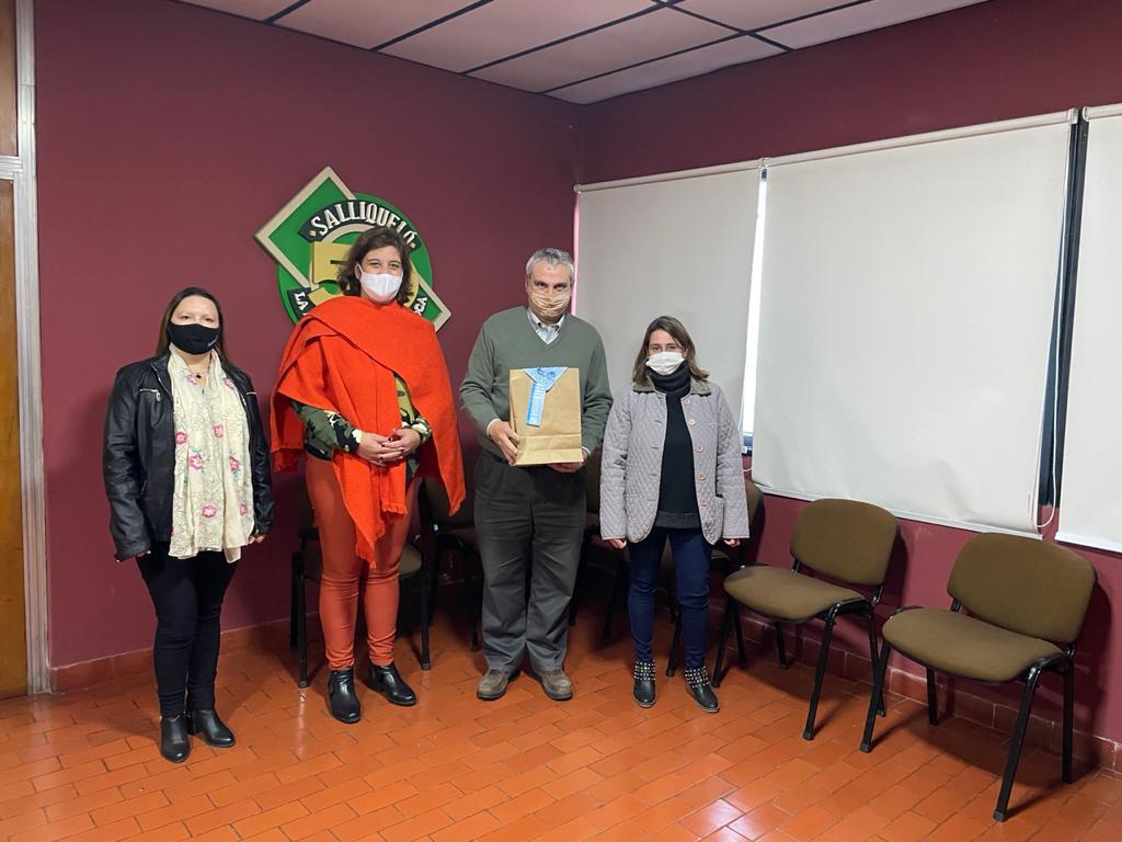 EL INTENDENTE RECIBIÓ A REPRESENTANTES DE SUTEBA