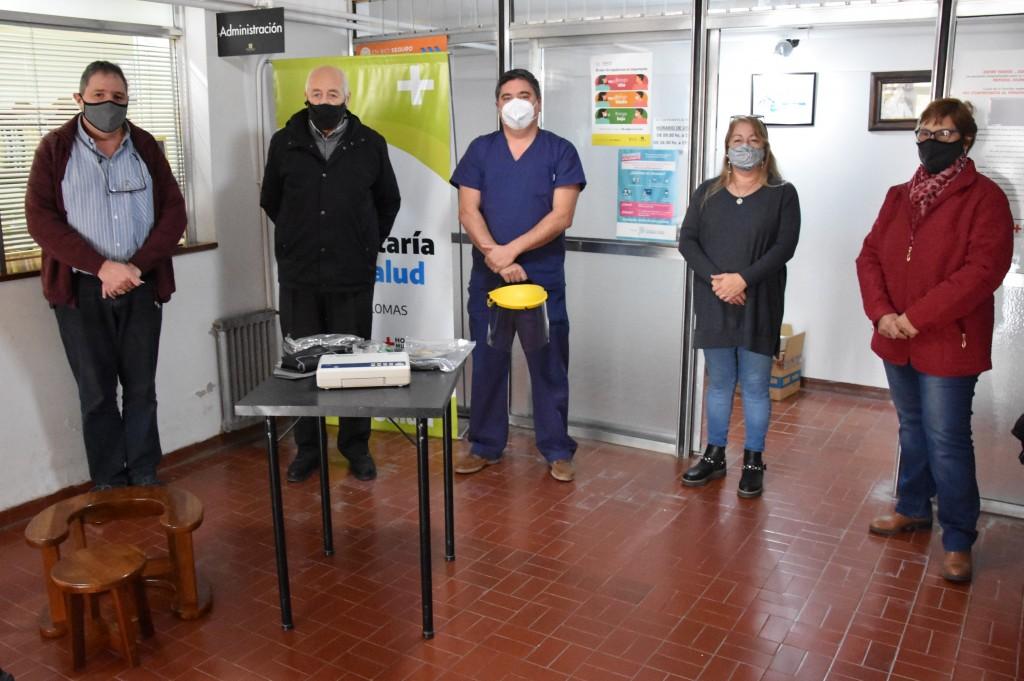 IMPORTANTE DONACIÓN DE LA COOPERADORA DEL HOSPITAL MUNICIPAL
