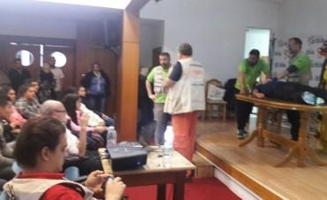 PERSONAL DE LA SALUD PARTICIPÓ DE UNA CAPACITACIÓN EN TRENQUE LAUQUEN