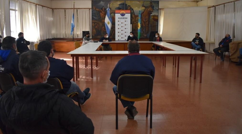 GUAMINÍ SUMA NUEVOS CONTROLES EN EL MARCO DEL COMITÉ DE CRISIS