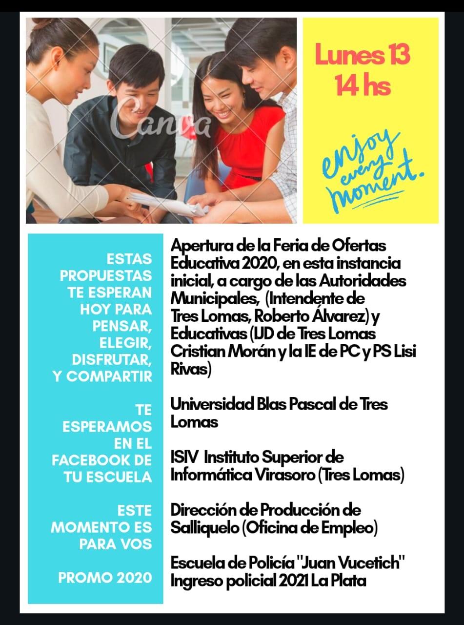 SE DA INICIO A LA FERIA DE OFERTAS EDUCATIVAS DISTRITAL 2020