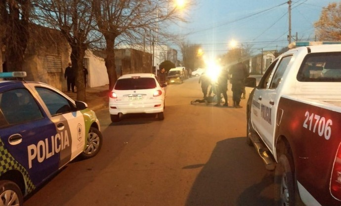 PERSECUCION POLICIAL Y DETENCION EN SALLIQUELO