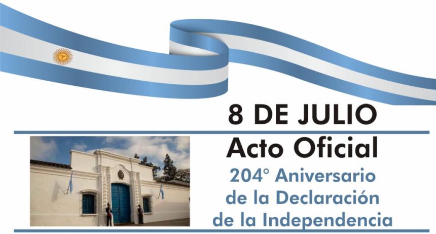 INVITACIÓN - ACTO CENTRAL POR EL DÍA DE LA INDEPENDENCIA
