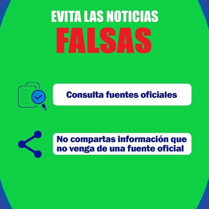 EL COMITÉ DE CRISIS DE 30 DE AGOSTO PIDE COMPROMISO Y RESPONSABILIDAD SOCIAL ANTE LA DIFUSIÓN DE MENSAJES FALSOS