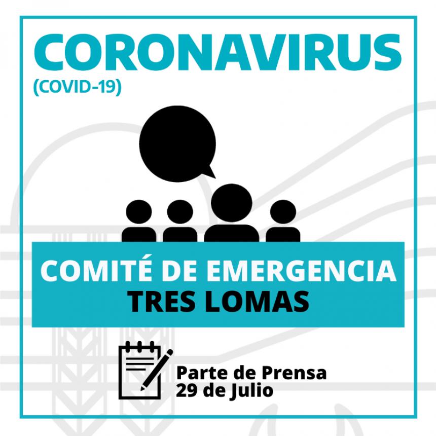 SE REUNIÓ EL COMITÉ DE EMERGENCIA: ANUNCIARON NUEVAS MEDIDAS.