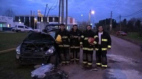 BOMBEROS PARTICIPARON DE JORNADAS DE CAPACITACION