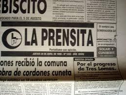 NO APARECE LA PRENSITA POR DOS SEMANAS