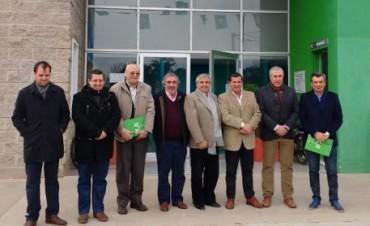 INTENDENTES FIRMARON UN ACUERDO PARA EL DESARROLLO REGIONAL