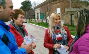 NIDIA SILVA: 'PARA HACER ESCUCHAR LA VOZ DE LOS VECINOS NECESITAMOS EL APOYO DE LA GENTE'