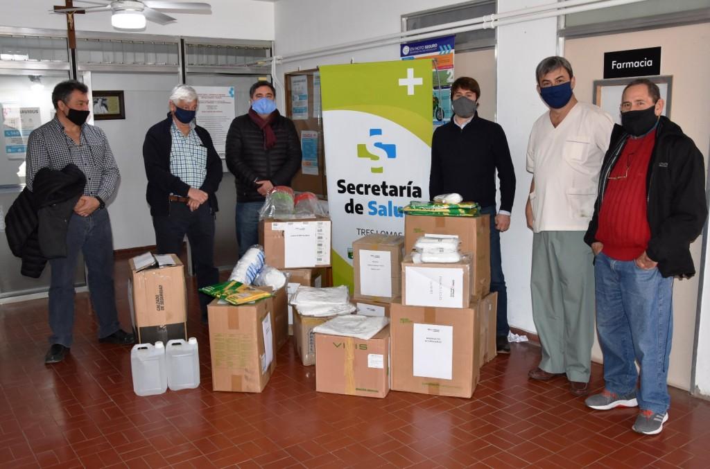 IMPORTANTE DONACIÓN DE FERROEXPRESO PAMPEANO AL HOSPITAL TRESLOMENSE
