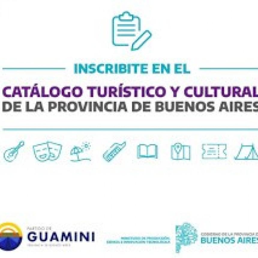 ÚLTIMOS DÍAS DE INSCRIPCIÓN AL CATÁLOGO TURÍSTICO Y CULTURAL