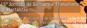 JORNADA DE SIEMBRA Y TRANSPLANTE DE HORTALIZAS