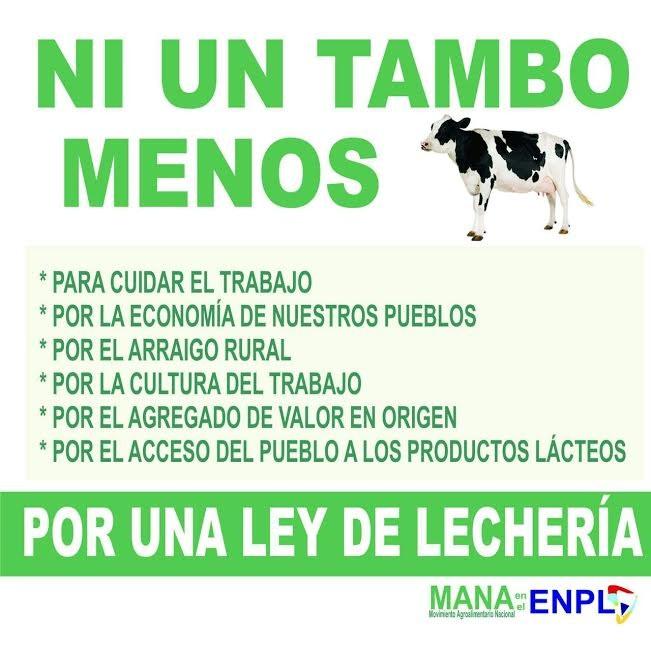EL M.A.N.A. ORGANIZA UN ENCUENTRO REGIONAL DE LECHERIA EN LA PORTEÑA