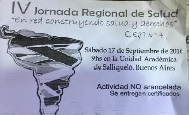 SE REALIZA LA IV JORNADA REGIONAL DE SALUD EN SALLIQUELO