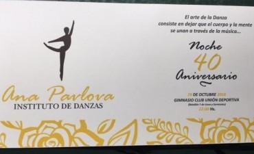 EL INSTITUTO DE DANZAS ANA PAVLOVA CELEBRARA SU 40º ANIVERSARIO EN OCTUBRE