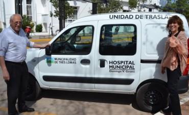 INCORPORAN NUEVO VEHICULO PARA EL HOSPITAL MUNICIPAL