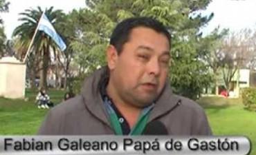 FABIAN GALEANO: 'SE VA A PINTAR UNA ESTRELLA RECORDANDO A GASTON EN EL LUGAR DEL ACCIDENTE'