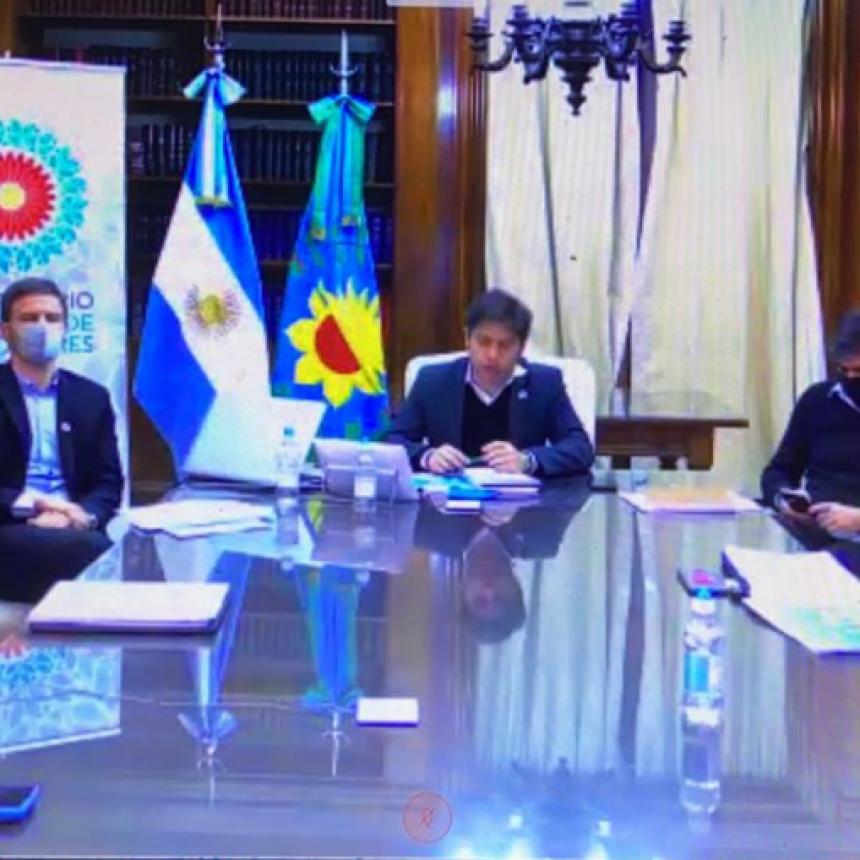EL INTENDENTE PARTICIPÓ DE LA PRESENTACIÓN DEL PLAN DE REACTIVACION PRODUCTIVA PARA LA POSPANDEMIA