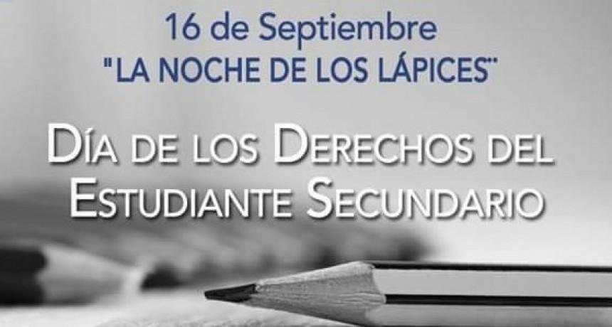 16 DE SETIEMBRE: DÍA DE LOS DERECHOS DE LOS ESTUDIANTES SECUNDARIOS