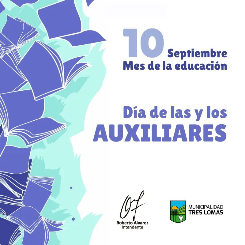 10 DE SEPTIEMBRE: DÍA DE LAS Y LOS AUXILIARES.
