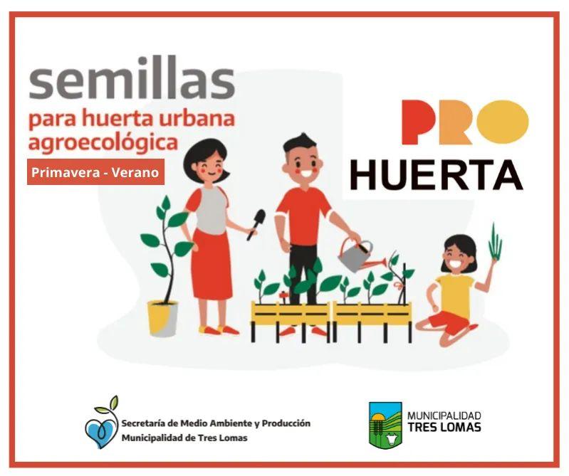 ENTREGA DE SEMILLAS DE ESTACIÓN PRIMAVERA-VERANO