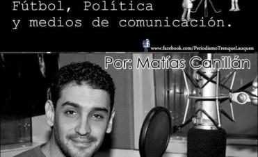EL PERIODISTA MATIAS CANILLAN DISERTARÁ EN TRENQUE LAUQUEN