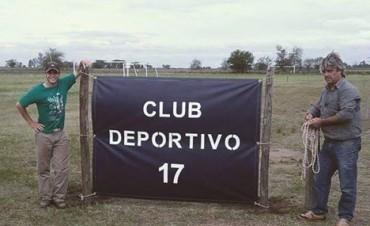 DEPORTIVO 17 INAUGURO SU CAMPO DEPORTIVO EN LA CIUDAD