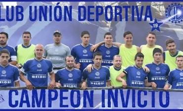 UNION DEPORTIVA GANO EL TORNEO CLAUSURA