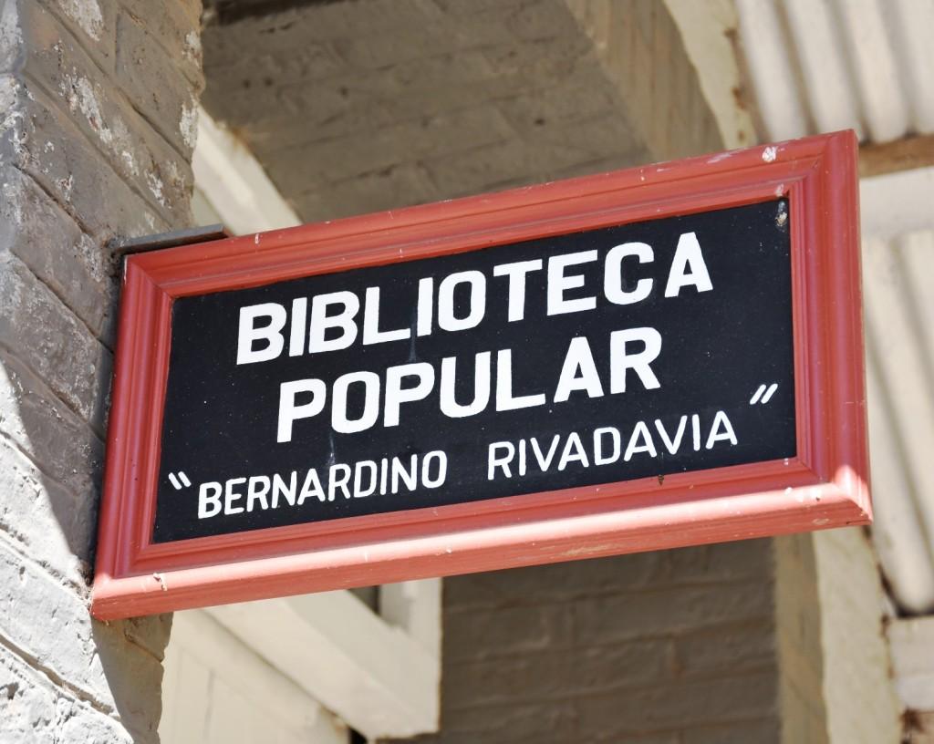 MUDANZA DE LA BIBLIOTECA POPULAR BERNARDINO RIVADAVIA