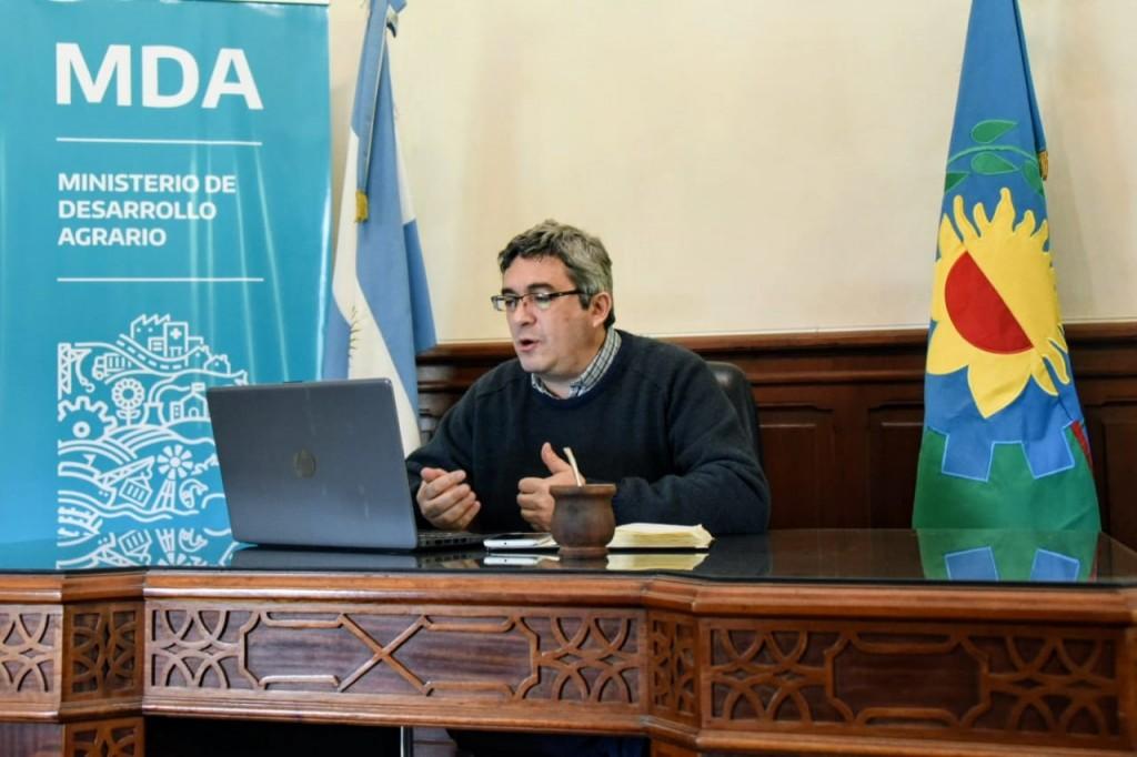 EL MINISTRO DE DESARROLLO AGRARIO AVANZÓ CON MUNICIPIOS EN LA ARTICULACIÓN DEL PROGRAMA DE PREVENCIÓN DE ETS BOVINAS