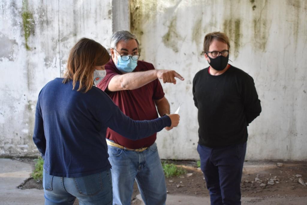 EL INTENDENTE MIGUEL FERNANDEZ, VISITÓ TREINTA DE AGOSTO Y RECORRIÓ OBRAS DEL HOSPITAL EGUIGUREN