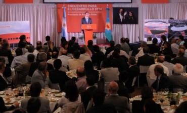 SCIOLI SE REUNIO CON INTENDENTES. ESTUVIERON PRESENTES ROBERTO ALVAREZ DE TRES LOMAS Y NESTOR ALVAREZ DE GUAMINI