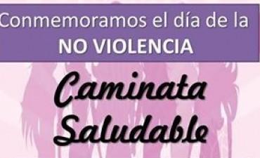 CAMINATA SALUDABLE POR LA 'NO VIOLENCIA'