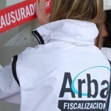 ARBA CLAUSURO COMERCIO EN LA CIUDAD