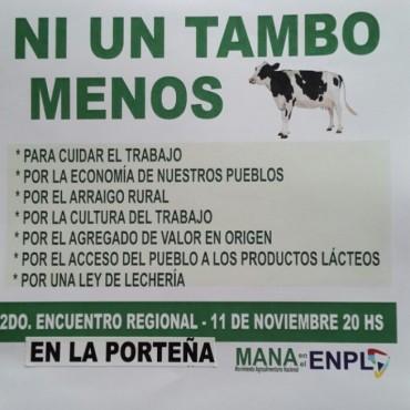 SEGUNDO ENCUENTRO REGIONAL DE LECHERIA EN LA PORTEÑA