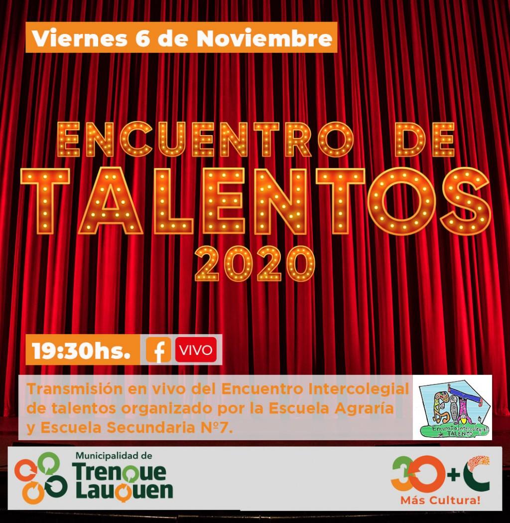 LLEGA UNA NUEVA PROPUESTA VIRTUAL: ENCUENTRO INTERCOLEGIAL DE TALENTOS 2020