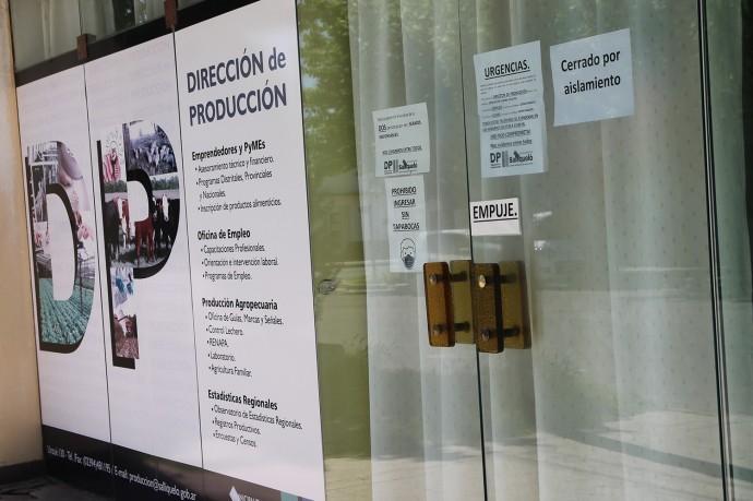 LA OFICINA DE PRODUCCIÓN PERMANECERÁ CERRADA HASTA NUEVO AVISO