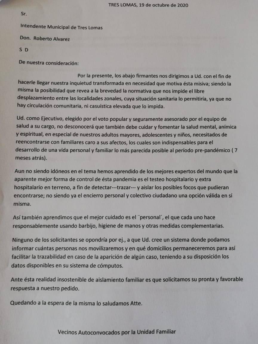 VECINOS AUTOCONVACADOS HABLARON EN FM AMANECER