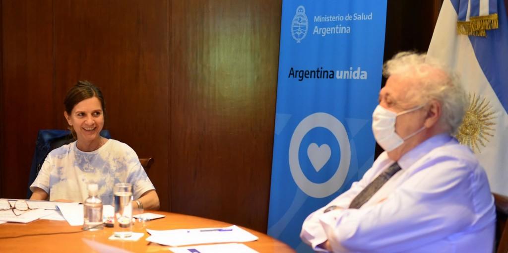 LA ANSES Y EL MINISTERIO DE SALUD INTERCAMBIAN INFORMACIÓN PARA GARANTIZAR DERECHOS