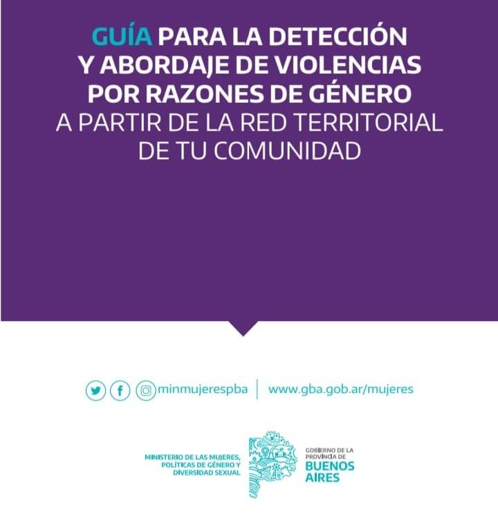 GUÍA PARA LA DETECCIÓN Y ABORDAJE DE VIOLENCIAS POR RAZONES DE GÉNERO