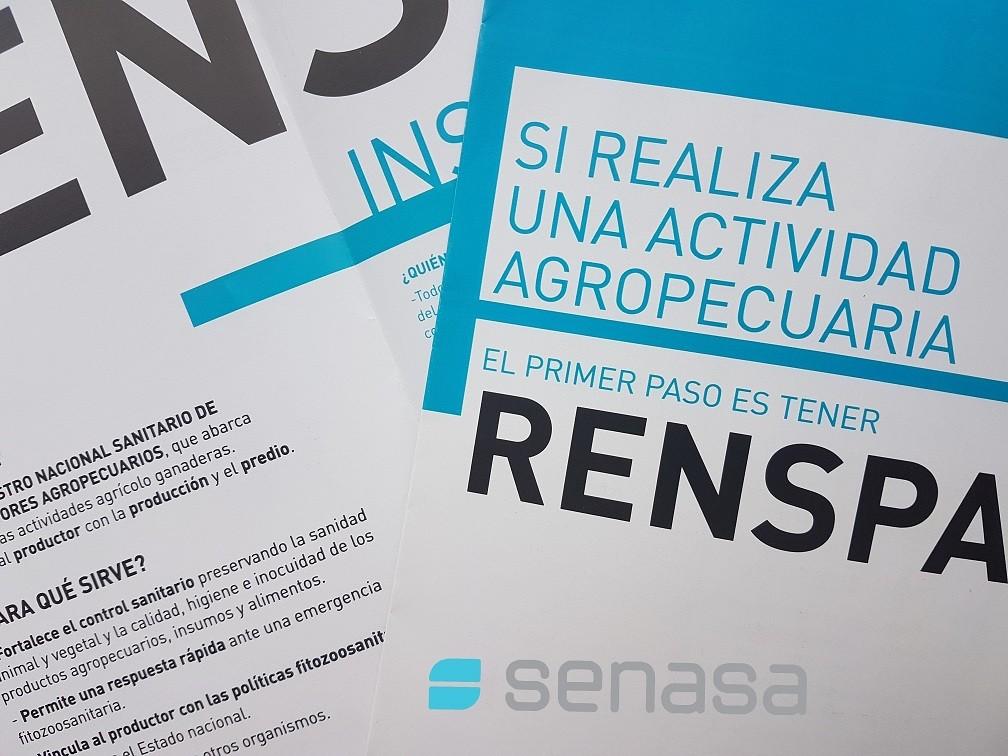 SENASA: LA INSCRIPCIÓN EN EL RENSPA SE REALIZA 100% POR AUTOGESTIÓN