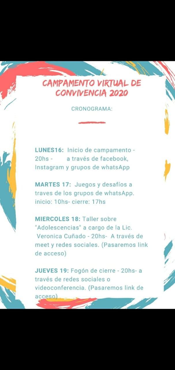 COMIENZA EL CAMPAMENTO VIRTUAL DEL CEPT N° 7