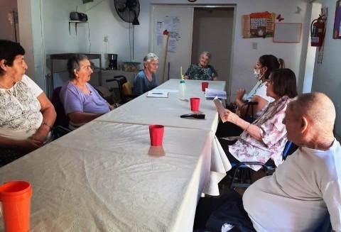 HABILITARON VISITAS DE FAMILIARES A HOGARES DE ADULTOS MAYORES